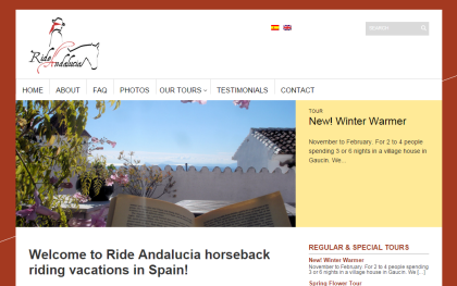 Ride Andalucia - horseback riding tours in southern Spain